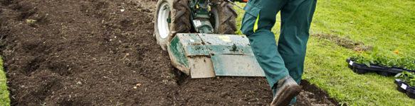 Фрезерование почвы на участках мотоблоком в Минске и области